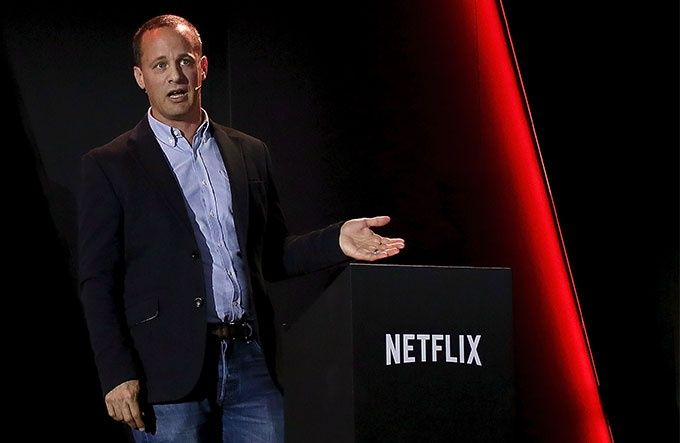 Erik Barmack, vice marknadsansvarig över egenproducerat internationellt material på Netflix.