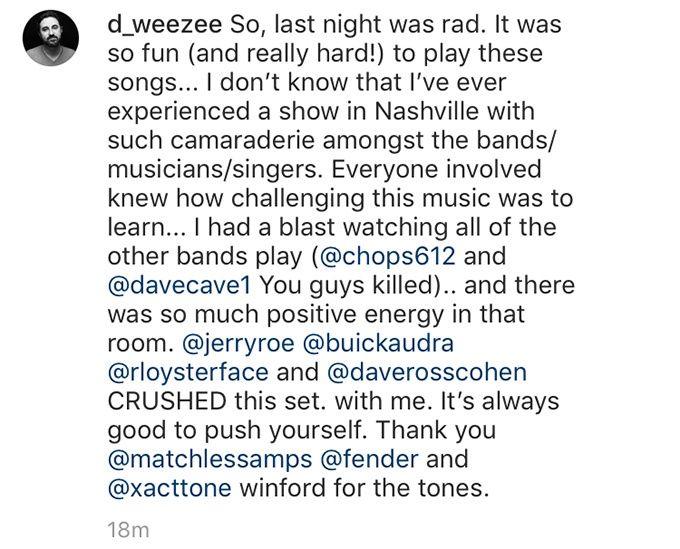 Derek Wells på Instagram