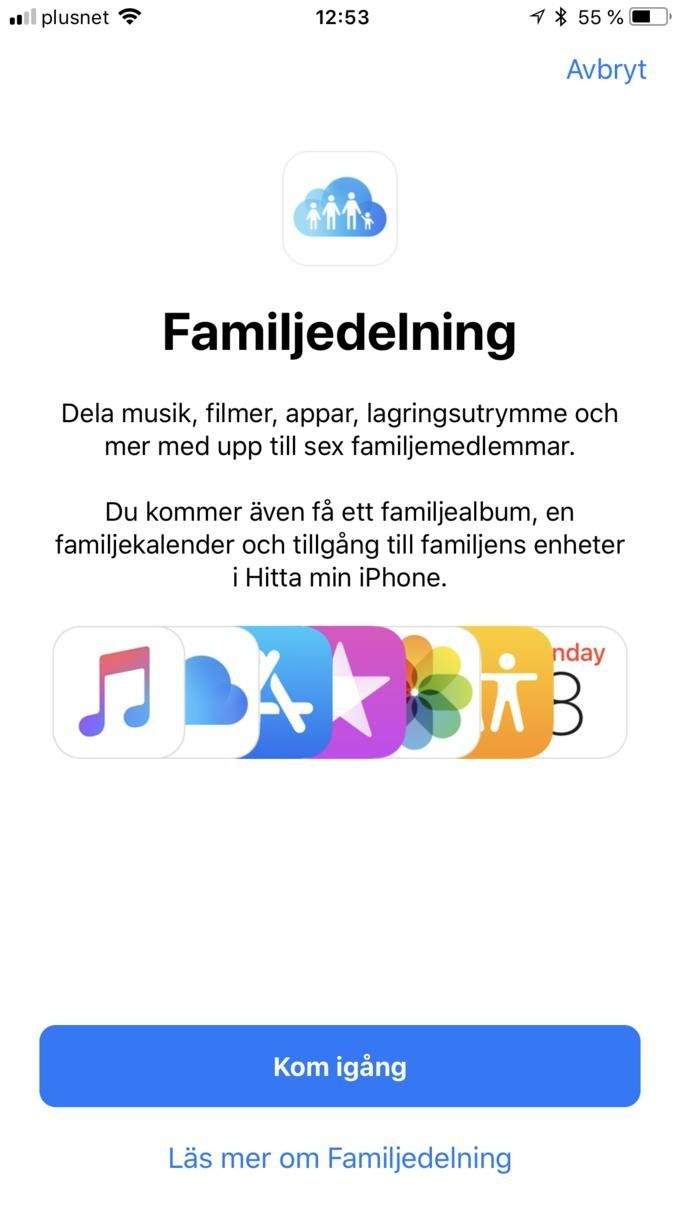 Familjedelning