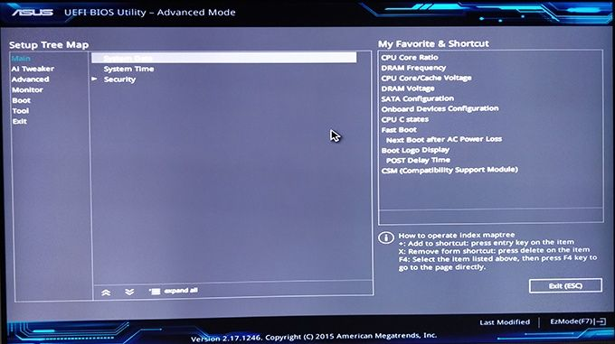 Asus Fast Boot