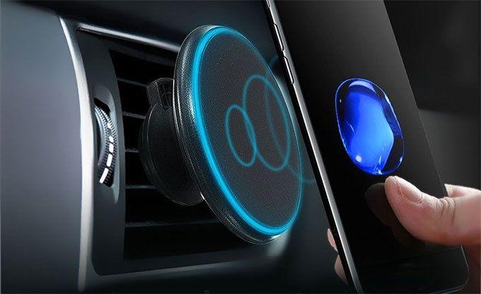 Magnetisk bilhållare