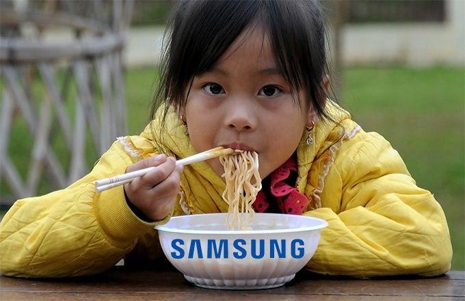 Samsung nudlar
