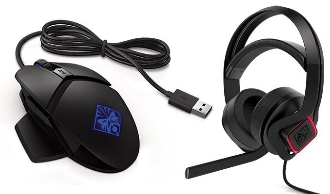 HP Reactor mouse, mindframe headset