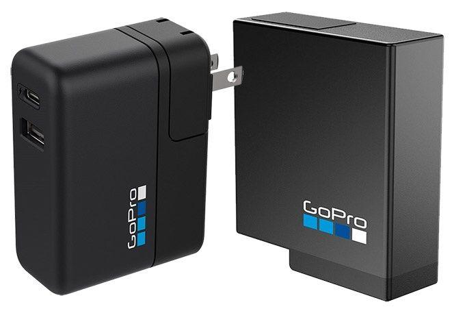 Batteriladdare och extrabatteri Gopro