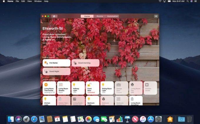 Hem-appen på Mac