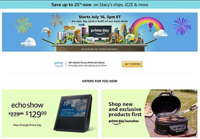 Prime Day Amazon.com
