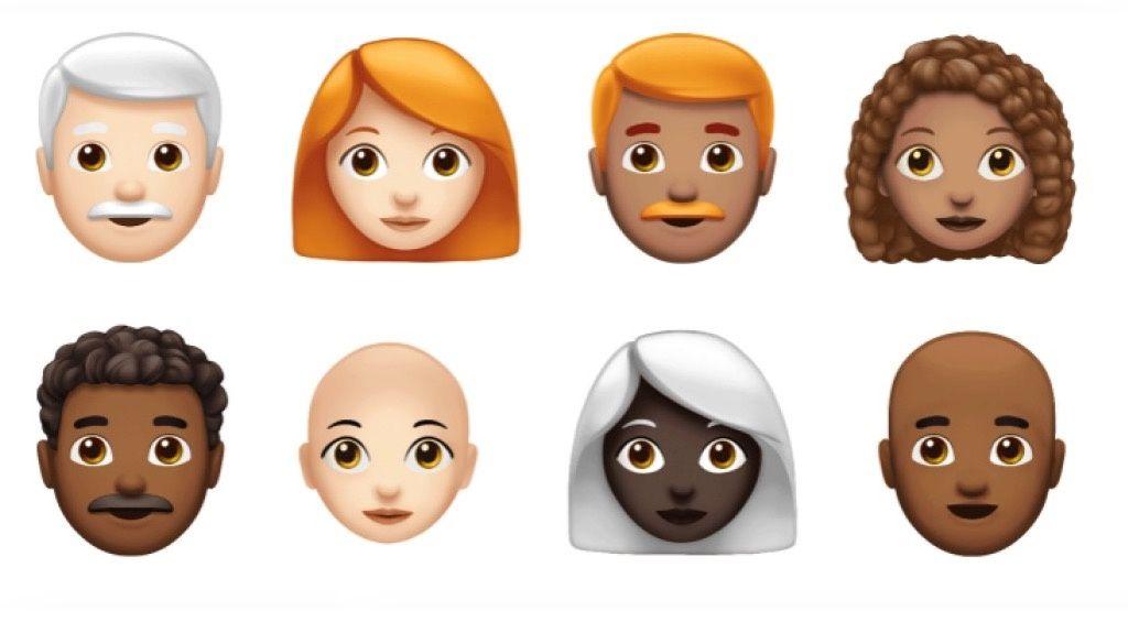 Nya emojis 2018