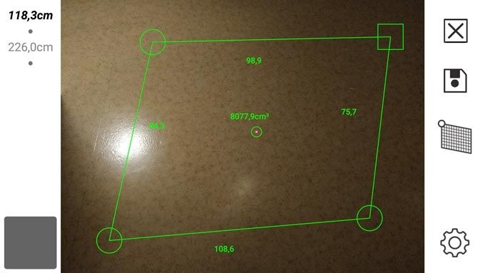 Lasermätarapp