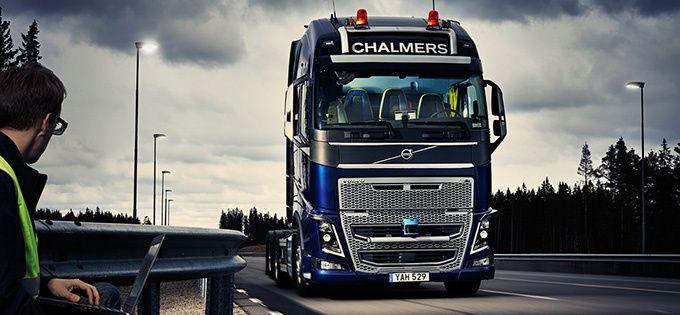 Sjalvkorande lastbilar snart verklighet pa svenska vagar