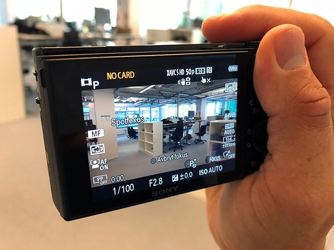 Test Sony RX100 VI