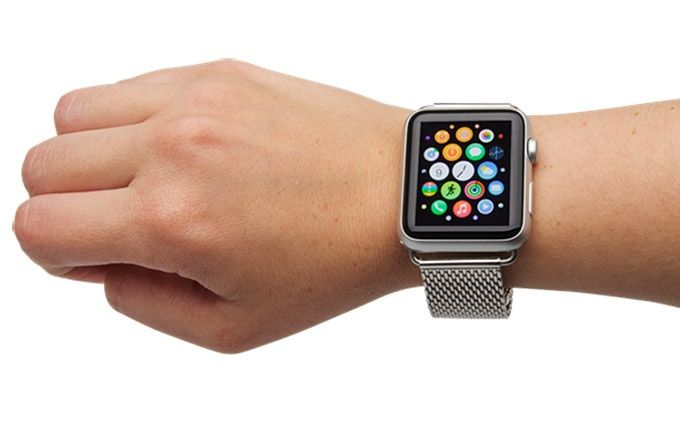 Izound Apple Watch armband Milanese-loop