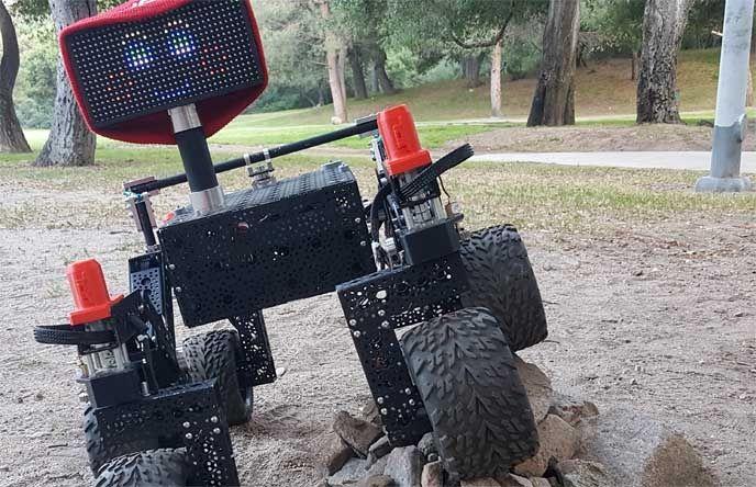 mars rover raspberry pi