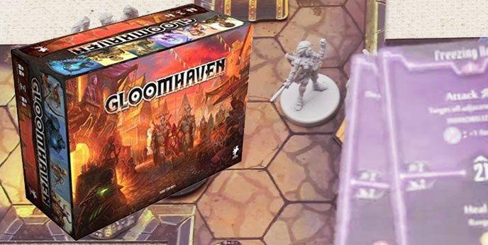 Gloomhaven brädspel strategi