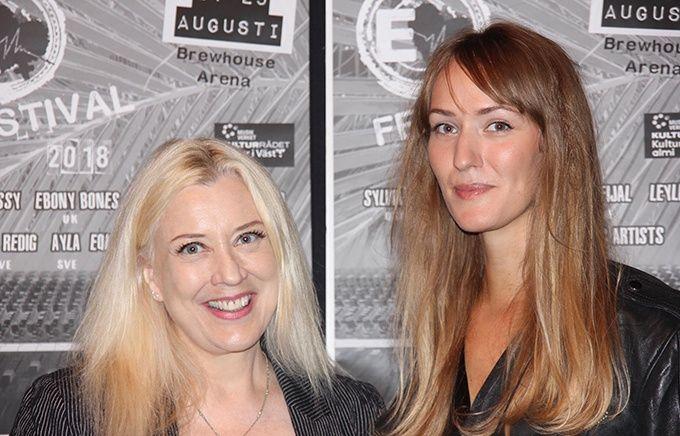 Sylvia Massy och Linn Fijal