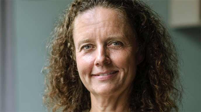 Generaldirektören Anna Eriksson