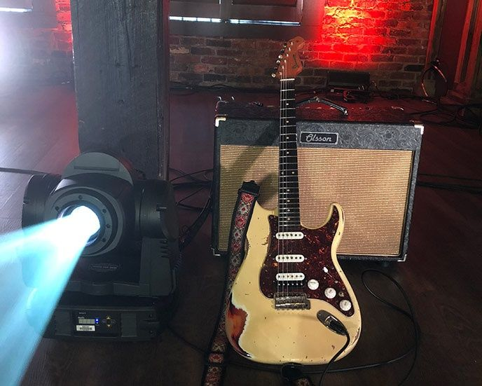 Olsson Amps och Sonnemo Guitars