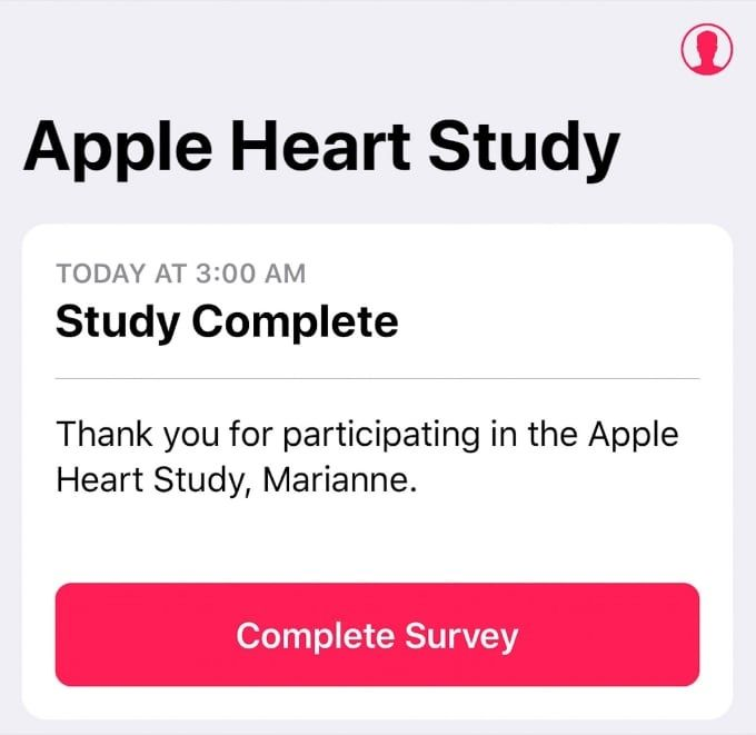 Apple Watch Heart Study