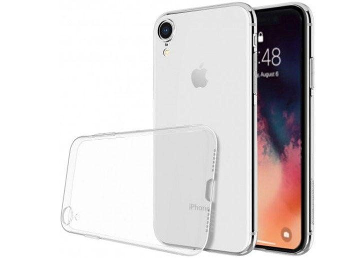 Apple iPhone XR Silikon skal Transparent