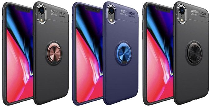 Slim Ring Case Iphone XR