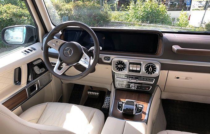 Test Mercedes G-klass G500