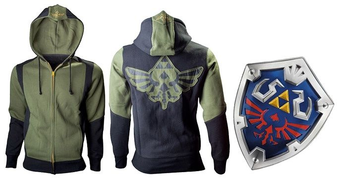 Link hoodie Zelda Nintendo