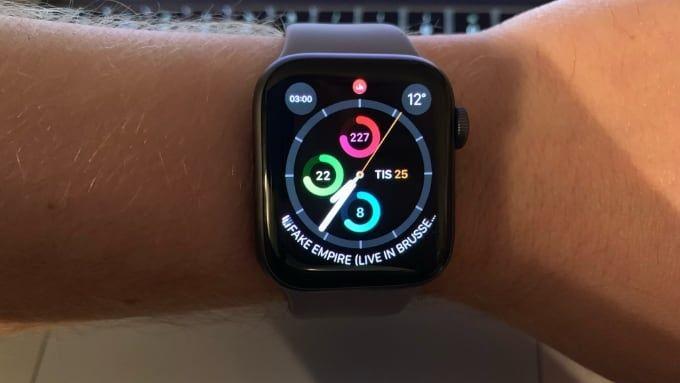 Test av Apple Watch Series 4