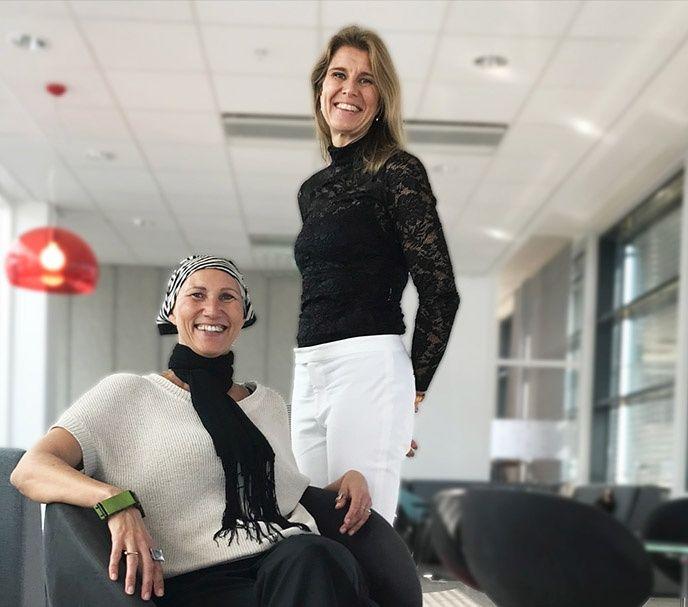 Liselotte Verbeek och Lena Lambert