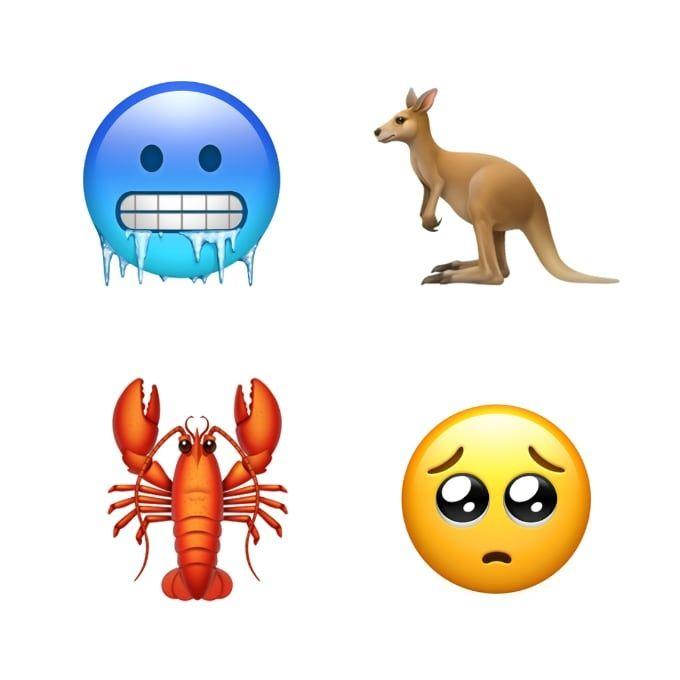 Nya emojis i IOS 12.1