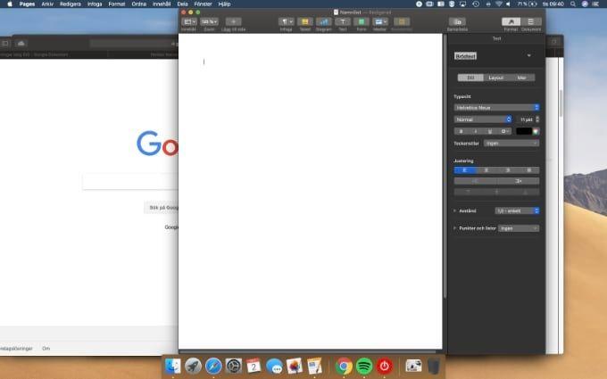 Test Mac OS Mojave