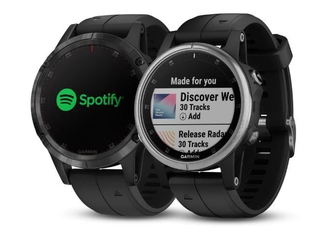 Garmin-klockor får Spotify-app