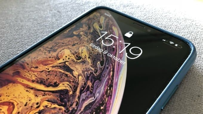 Långtidstest Iphone XS