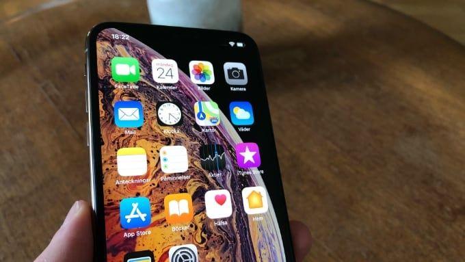 Långtidstest Iphone XS
