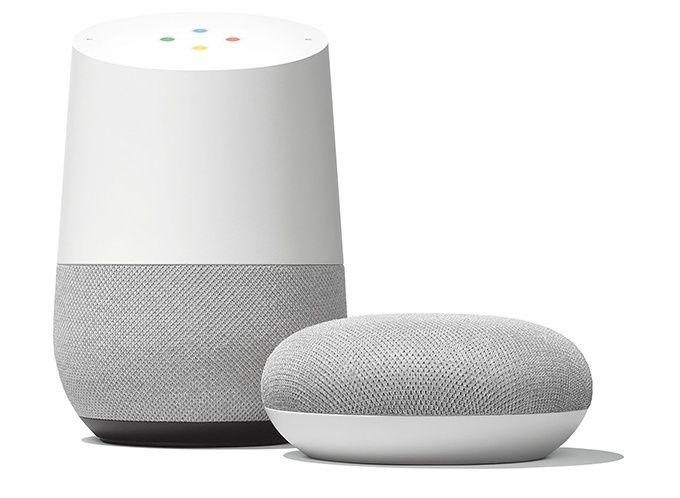 Google Home priser