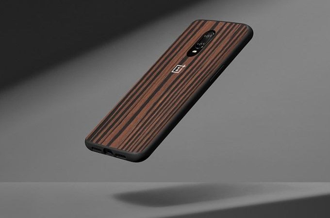 OnePlus Ebony Wood Bumper Case