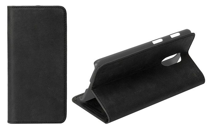 Krusell Sunne 2 Card Foliowallet Vintage Black OnePlus 6T