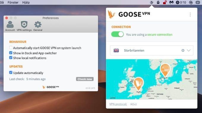 Goose VPN – holländsk streaming-uppstickare
