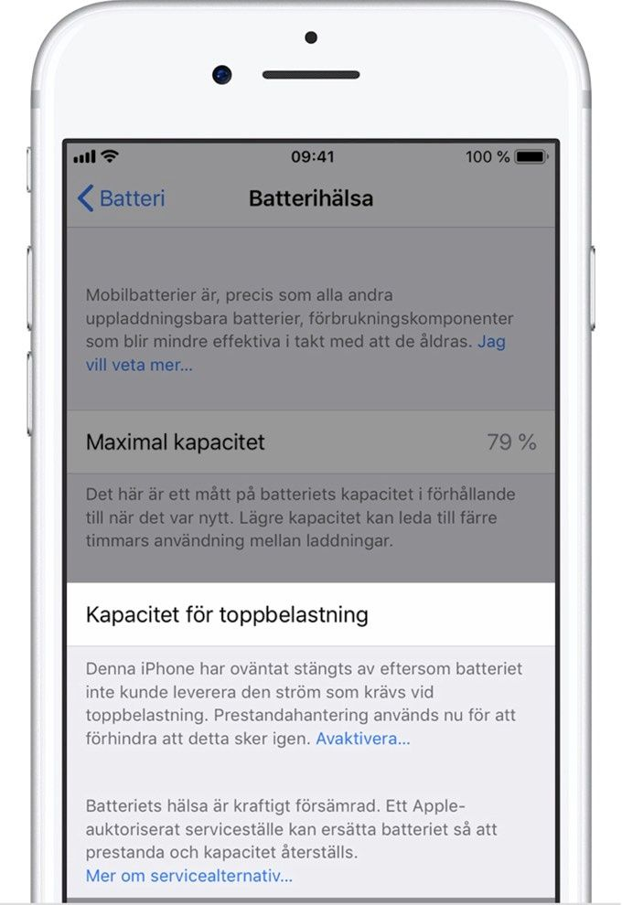 Batterikapacitet