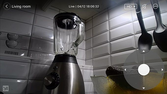 Test Yi Dome Camera 1080P