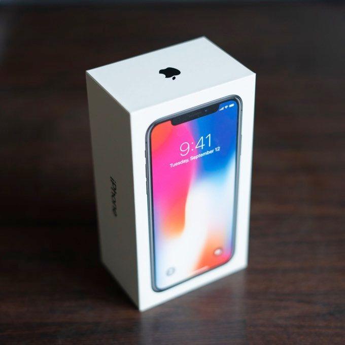 Iphone i kartong