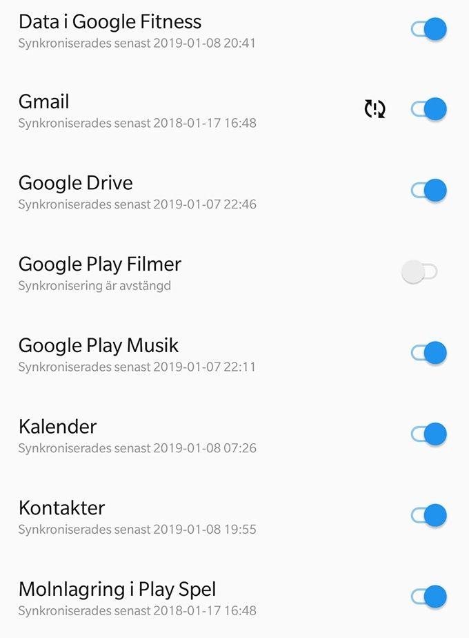 Flytta till ny mobil