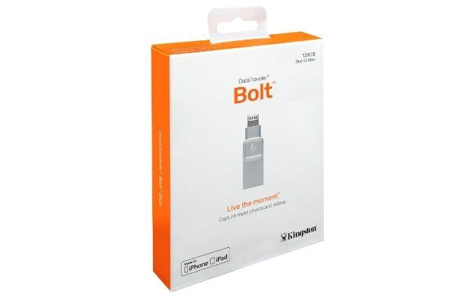 Test Kingston Bolt usb-minne för Iphone
