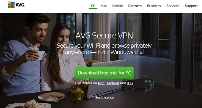 AVG VPN kill switch