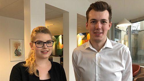 Josephine Bengtsson och Jacob Kjellerstedt