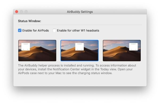 Airbuddy ger Airpods-kontroller på Mac