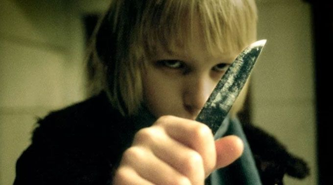 Låt den rätte komma in skräckfilm