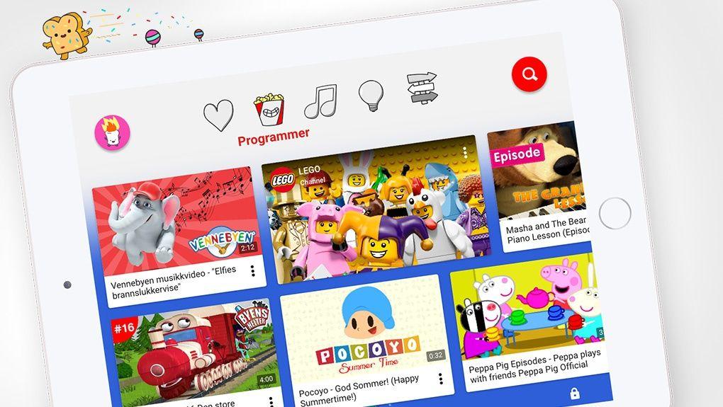 Youtube Kids Släpps I Sverige M3