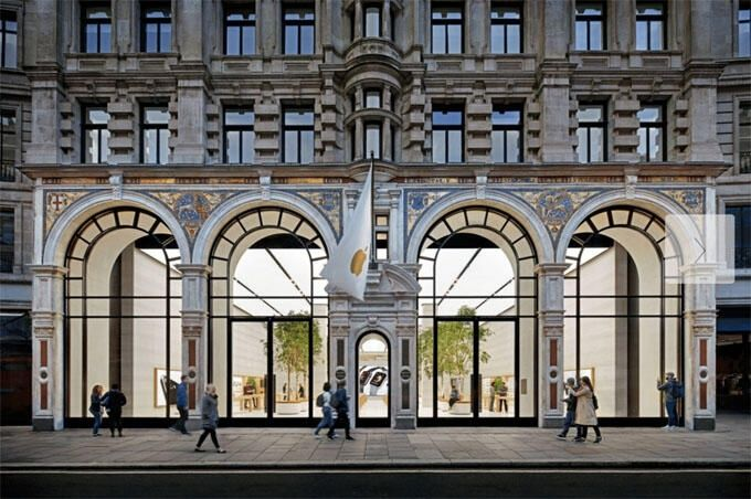 Apple-butik i London