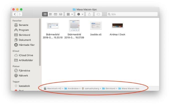 Viktiga knep för din Mac