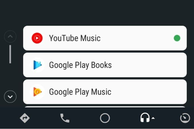 Youtube Music i Android Auto