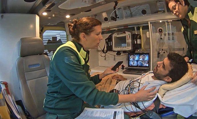kameror ambulans